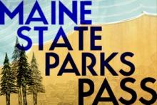 Maine State Parks Pass logo